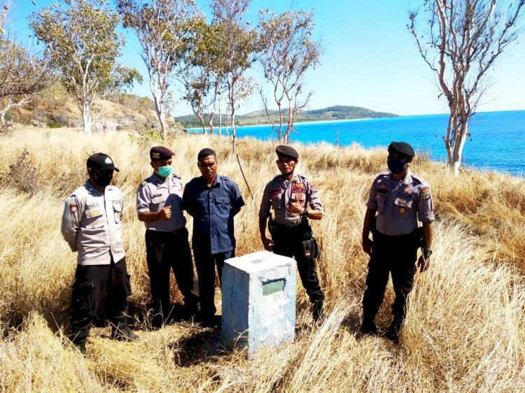 Beri Rasa Aman, Personil Polsek Alor Timur Laksanakan Patroli Perbatasan