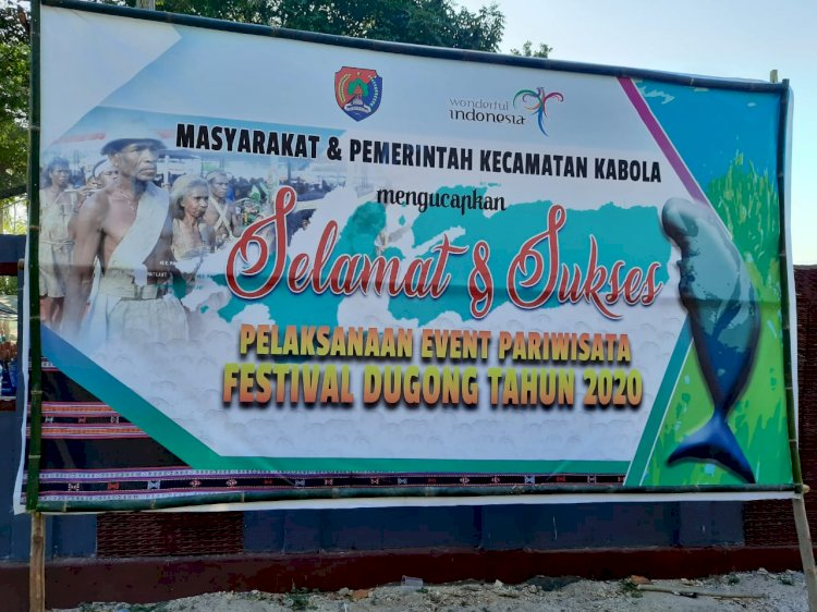 Personil Polres Alor amankan Festival Dugong
