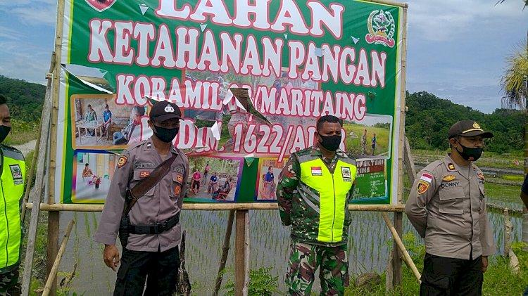 TNI-POLRI Dukung Kegiatan Ketahanan Pangan