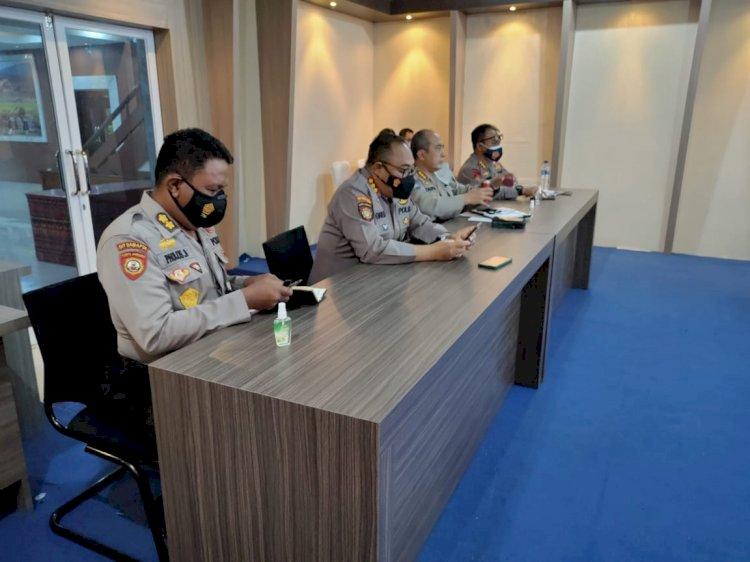 Polda NTT Vicon Bersama Kabaharkam Polri Bahas Soal Pemelihara Kamtibmas