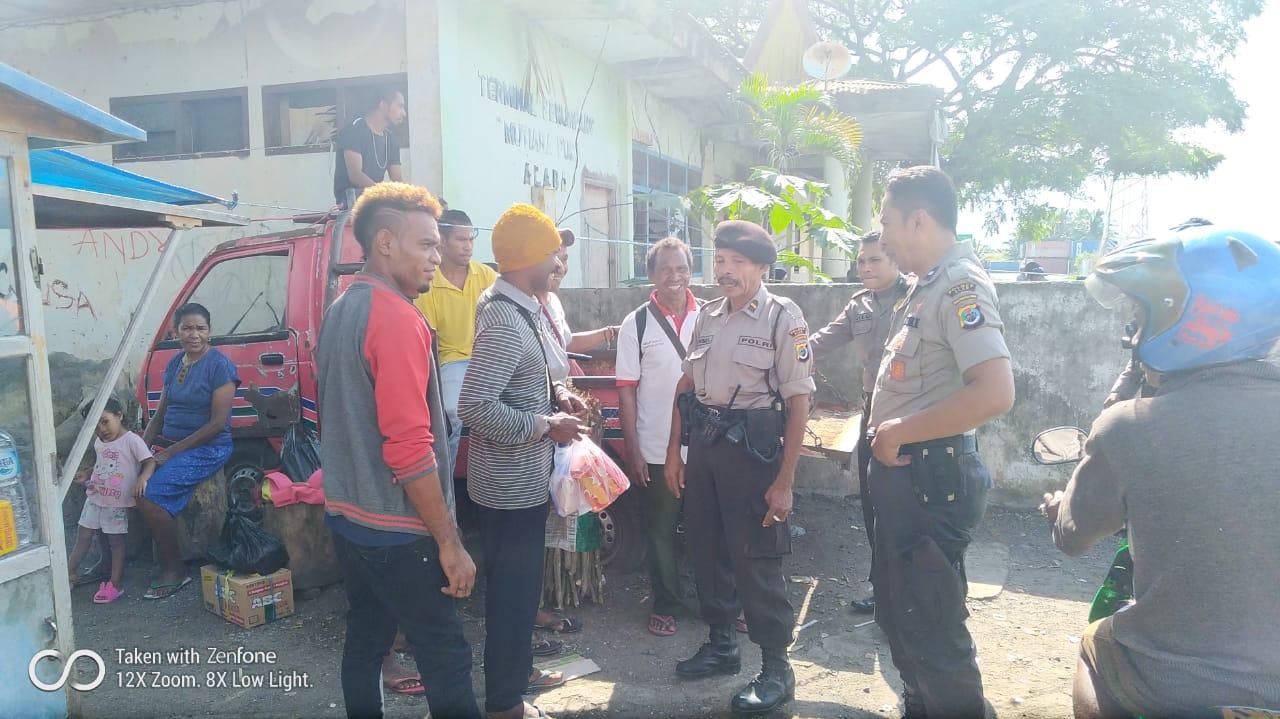 Minimalisir Tindakan Kriminal Sat Sabhara Polres Alor Laksanakan Patroli Dikawasan Objek Vital