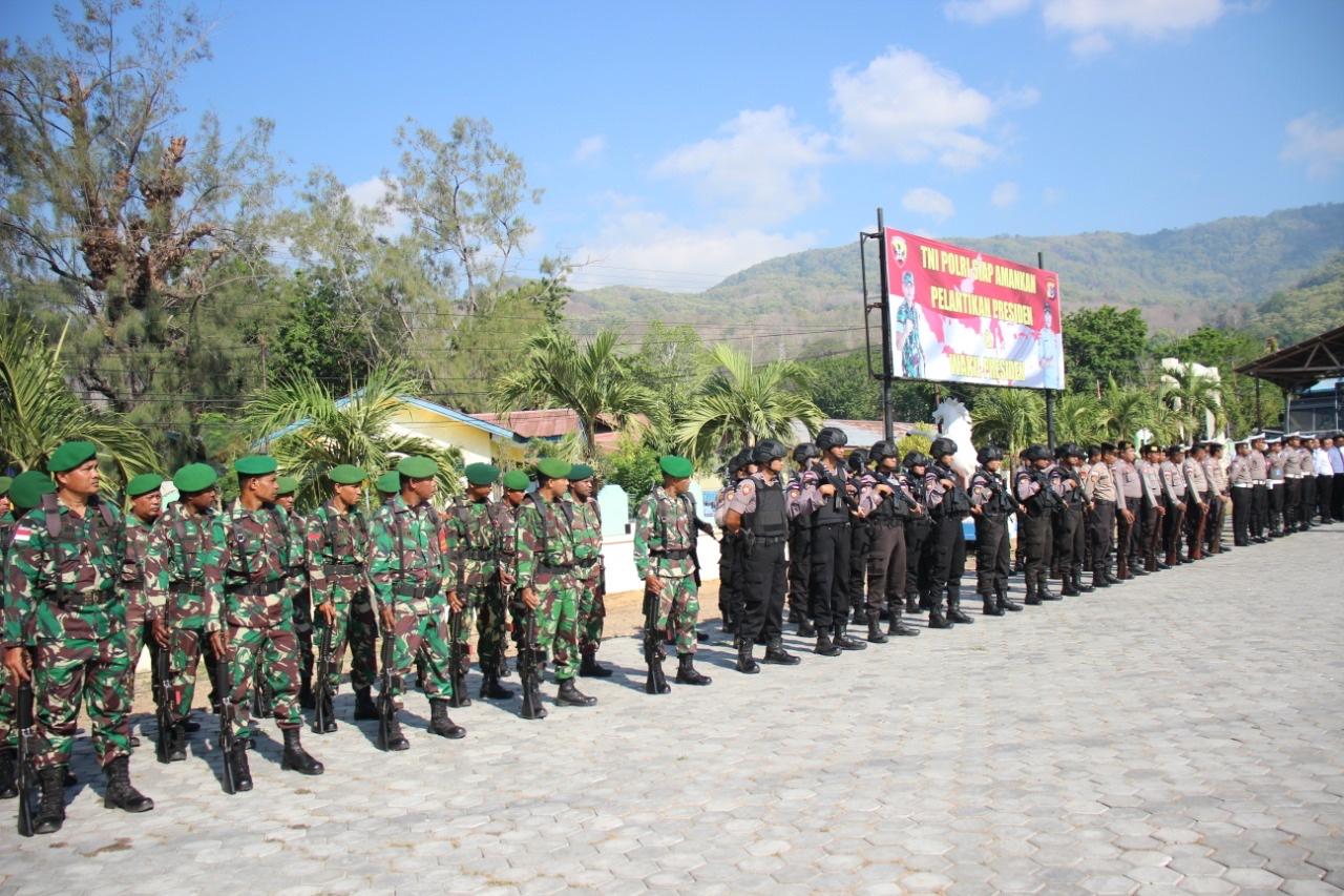 Apel Kesiapsiagaan TNI POLRI Beserta Instansi Terkait Di Polres Alor