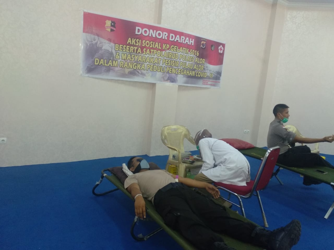 Aksi Sosial Donor Darah Dalam Rangka Peduli Pencegahan Covid-19